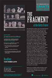 2020-2021 Scholar Year Poster: The Fragment