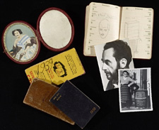 Materials from the Man Ray archive