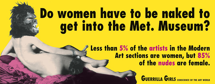 Guerrilla Girls poster