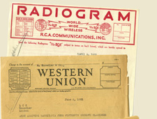 Telegrams to and from Andrew W. Mellon