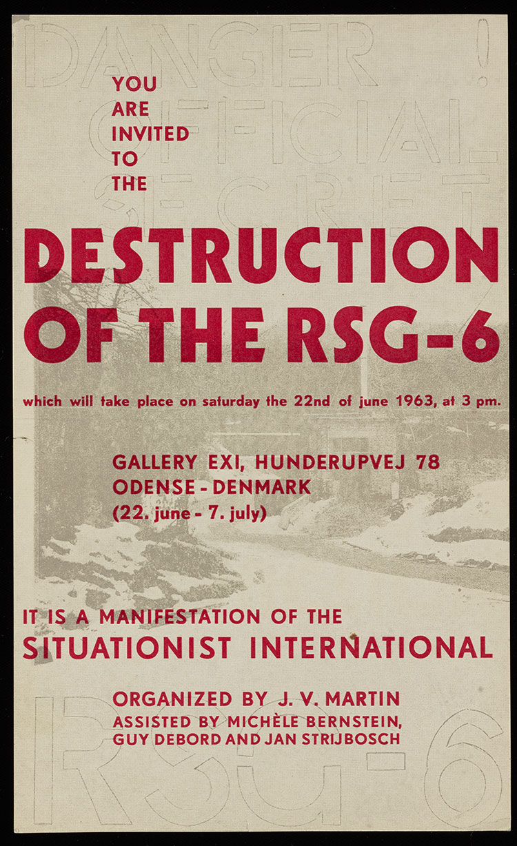 Invitation to the Destruction of the RSG-6