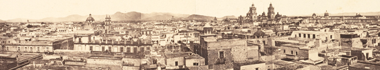 Aubert, Panorama de Mexico, ca. 1865-67 (96.R.122)