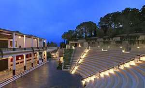 Outdoor Classical Theater at the Getty Villa