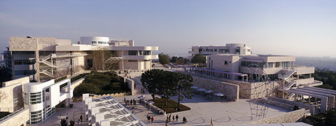 View of the Getty Center