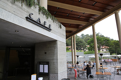 The Cafe at the Getty Villa