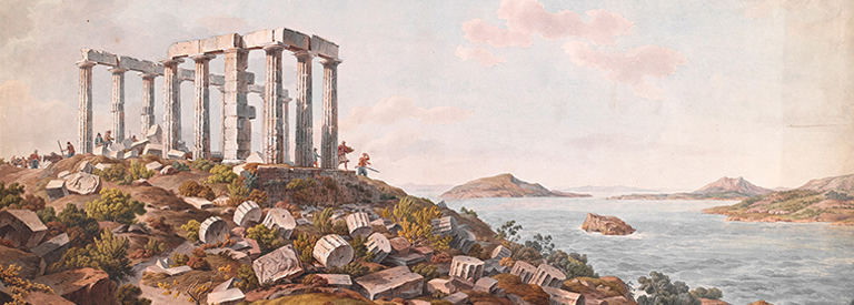 Greece's Enchanting Landscape: Watercolors by Edward Dodwell and Simone Pomardi