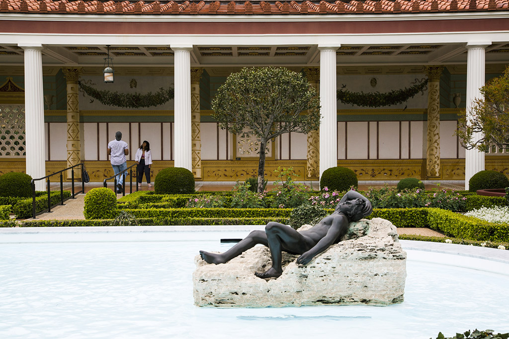 Gardens at the Getty Villa